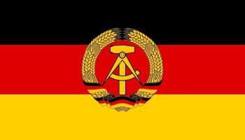 Korte geschiedenis van de DDR - DDR-vlag
