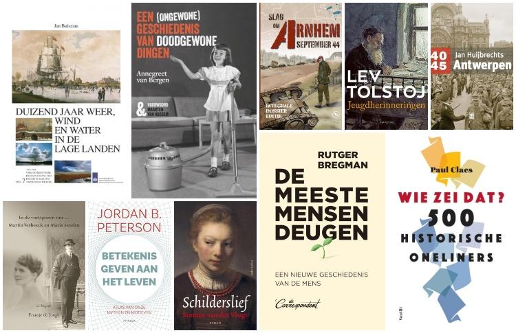 Nieuwe geschiedenisboeken (week 36) – 2019