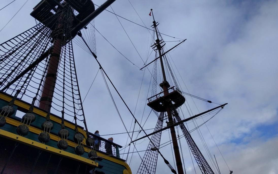 Het Spiegelretourschip – Beroemd scheepstype van VOC en WIC