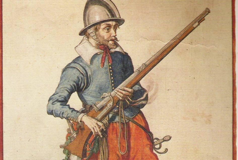Musketiers en musketten