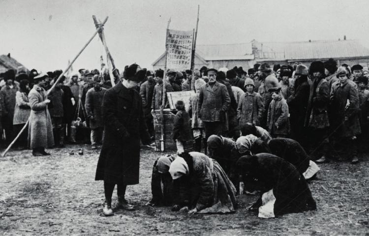 Amerikaanse reddingsoperatie tijdens Russische hongersnood (1921)