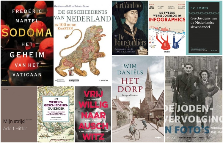 De bestverkochte geschiedenisboeken van 2019
