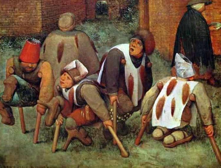 Aan de bedelstaf raken – Betekenis en herkomst
