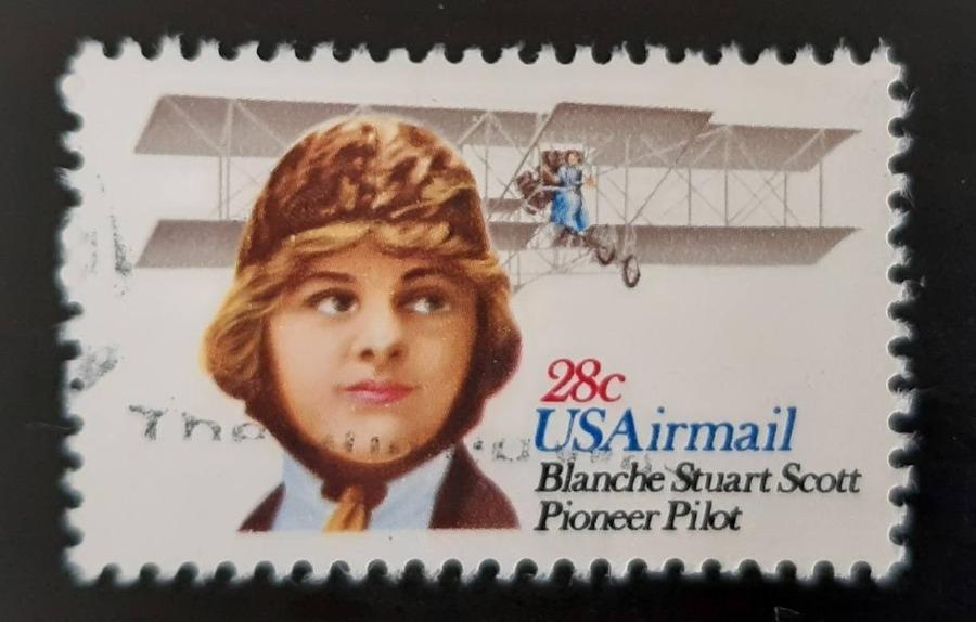 Blanche Scott (1884-1970) – Amerikaanse piloot
