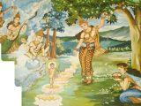 De geboorte van de Boeddha