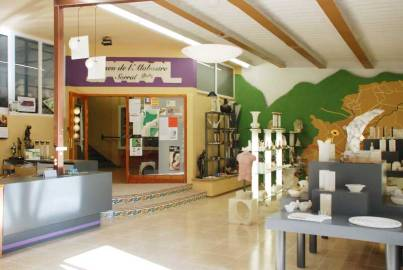 Botiga i entrada del Museu. Foto: Tinet.cat