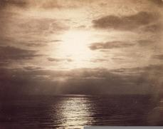 Gustave Le Gray; Seascape; c.1855; albumen print; 30 x 37.8 cm; George Eastman House, Rochester, NY