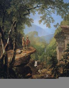 Asher Brown Durand; Kindred Spirits; 1849