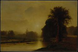 George Inness; Autumn Meadows; 1869; oil on canvas; 30 x 45.5 inches