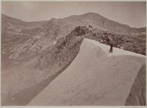 Timothy O'Sullivan; August Snowbank, East Humboldt Mountains; 1868; albumen print; 19.6 x 26.9 cm; George Eastman House