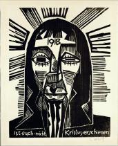 Karl Schmidt-Rottluff; Did Not Christ Appear to You?; 1918; woodcut; Brücke-Museum, Berlin, Germany