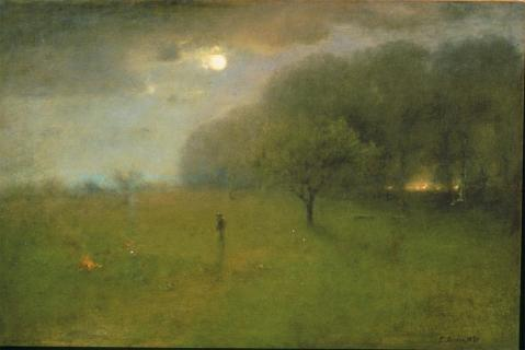 George Inness; Spirit of the Night; oil on canvas; Williams College Museum of Art