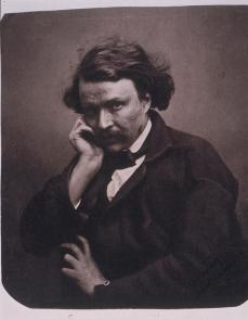 Félix Nadar; Self-Portrait; 1855; salt print