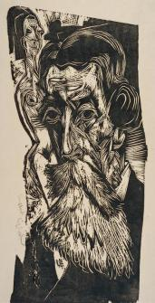 Ernst Ludwig Kirchner; Portrait of Ludwig Schames; 1917; The Minneapolis Institute of Arts