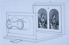 Claudet Stereoscope