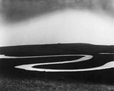 Bill Brandt; Cuckmere River, Sussex; 1963; gelatin silver print; 19.2 x 23.4 cm