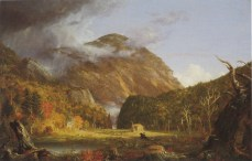 Thomas Cole; View of Mountain Pass Called Notch of White Mountains; 1839