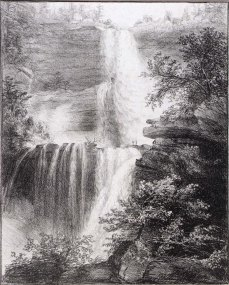 Thomas Cole; Catskills; Lithograph