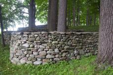 Andy Goldsworthy; Storm King Wall (detail); 1997-8; dry stacked stone; Storm King Art Center, Old Pleasant Hill Road; Mountainville, New York