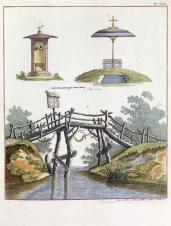 G. Van Laar; Magazijn van Tuin-Sieraaden, plate XXIX; 1802