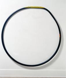 Martin Puryear; Blue Blood; 1979; polychromed pine and red cedar; Corcoran Gallery of Art, Washington, DC