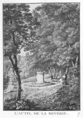 J. Merigot; L'autel de la reverie; 1788