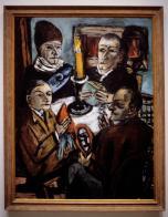 Beckmann_ArtistsWithVegetables_1943