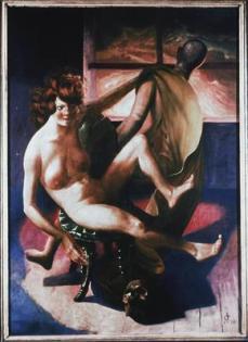 Otto Dix; Melancholy; 1930; mixed media; 137 x 98 cm
