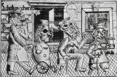 Otto Dix; War Cripples; 1921; etching