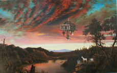 Ged Quinn; The Exiled Forever Coming in to Land; 2010; oil on canvas; 200 x 320 cm