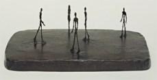 Alberto Giacometti; City Square; 1948; bronze; 21.6 x 64.5 x 43.8 cm; The Museum of Modern Art