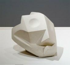 Alberto Giacometti; Head-Skull; 1933-34; plaster; 18.5 x 20 x 22.5 cm; The Museum of Modern Art