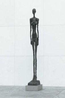 Alberto Giacometti; Tall Figure III; 1960; bronze; 236.2 x 29.5 x 52.4 cm; The Museum of Modern Art