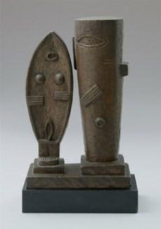 Alberto Giacometti; The Couple; 1927; Bronze; 59.7 x 36.8 x 17.8 cm; The Museum of Modern Art