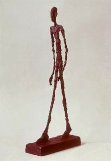 Alberto Giacometti; Walking Man; 1947-48; bronze
