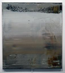 Gerhard Richter; 860-7 Abstraktes Bild; 1999; oil on aluminum; Photographed by Larry Qualls