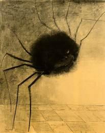 redon_smiling-spider 1881