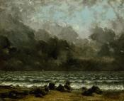 Jean Gustave Courbet; The Sea; 1873; oil on canvas; 50.8 x 61 cm; The Metropolitan Museum of Art