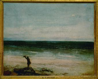Jean Gustave Courbet; Seaside at Palavas; 1854