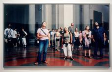 Thomas Struth; Audience 3 (Gallerie Dell'Accademia), Florence; 2004; c-print mounted on UV plexiglass