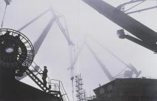 Sebastiao Salgado; Shipyards, Poland and France; 1990