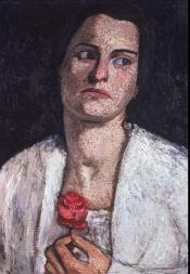 Paula Modersohn-Becker; Clara Rilke-Westhoff; 1905; oil on canvas; 52 x 36.8 cm