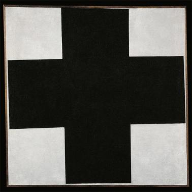 Kazimir Malevich; Black Cross; c. 1923; oil on canvas; 106 x 106.5 cm; State Russian Museum, St. Petersburg