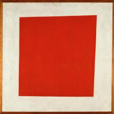 Kazimir Malevich; Red Square; 1925; oil on canvas; 53 x 53 cm; State Russian Museum, St. Petersburg