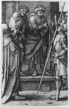 Lucas van Leyden; Ecce Homo; 1521; engraving; 115 x 74-76 mm