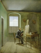 Georg Friedrich Kersting CDF in his Studio 1811