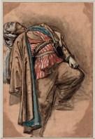 """Injured Turk, Falling Backward"" by Anne-Louis Girodet de Roucy-Trioson"