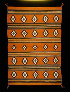 Navajo, Chinle revival? rug, Early Modern Period, c.1925-1940, Wool; Dye, 182 cm x 125 cm x 0.3 cm