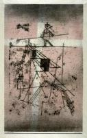 Seiltanzer (Tightrope Walker) from Kunst der Gegenwart (Contemporary Art) (Munich: R. Piper & Co., 1923) Work Type Prints Date 1923 Material color lithograph Measurements 44.1 x 26.9 cm (image); 53.5 x 38.3 cm (sheet)