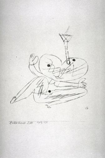 Ausloeschendes Licht Work Type Prints Date 1919 Material Lithograph Measurements 18.2 x 15.3 cm (image)